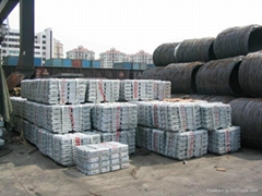 Sell High Quality Zinc Ingots 99.995