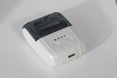 Portable bluetooth mini 58mm thermal Printer