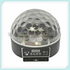 Disco DJ Stage Lighting LED Mini tri RGB Crystal Magic Ball Color Effect Light