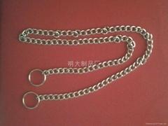 铁链条配两头钥匙圈