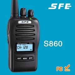 Long Range Handheld Amateur Walkie Talkie S860