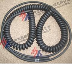 PU电缆美式螺旋线