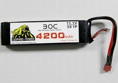 Leopard Power lipo batteries