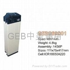 中美通用48V 14Ah银鱼锂电池