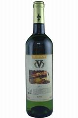 法國V牌白葡萄酒