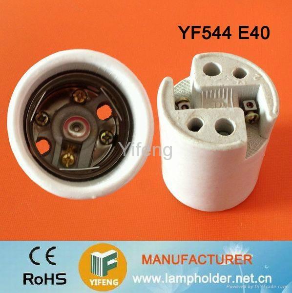 ceramic lamp holder e40 3