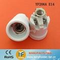 e14 ceramic lamp base with bracket 5