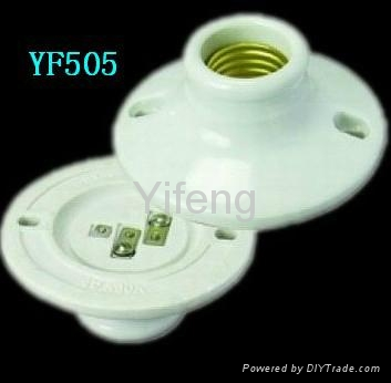 ceiling lamp socket with switch 2