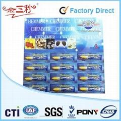 3g Aluminium Tube Super Glue 12 pcs per card