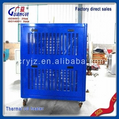 Electric hot oil circulating thermal oil heater