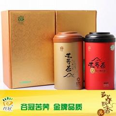 谷冠 900克禮盒裝全胚苦蕎茶