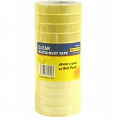 Tower shrink with label Clear Tape