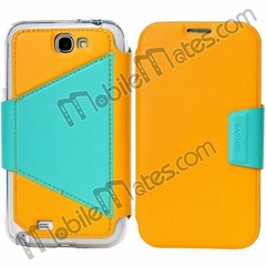 Magnetic Flip TPU+PU Leather Hybrid Case Cover for Samsung Galaxy Note 2 N7100