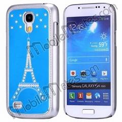 Diamond Eiffel Tower Aluminium Hard Cover Case for Samsung Galaxy S4 Mini i9190