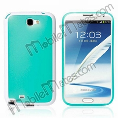Candy Color Oil Coated Frosted TPU Case for Samsung N7100 GALAXY Note 2