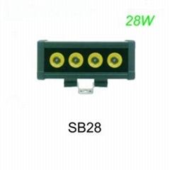 28W LED light bar