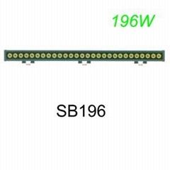 196W LED light bar  SB196  7WLED