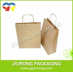 made in china B/Kraft Paper bag for shooping