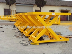 2.5Ton Customized small scissors hydraulic lift table lift