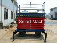11 Meter High lift Mobile Scissor Car Lift Truck (SJY0.5-11)