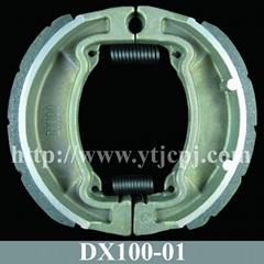 DX100 Motorcycle Brake Shoe