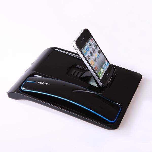 wireless bluetooth docking station desktop phone for iphone 4 4s voip md220 padmate china. Black Bedroom Furniture Sets. Home Design Ideas