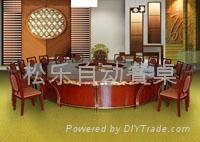 金龍鳳電動餐桌