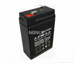 6v5ah Sealed Lead Acid Battery