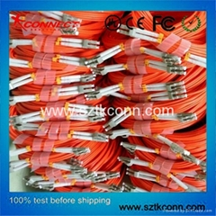 LC-LC 50/125 MM Duplex Fiber Optic Patch Cable