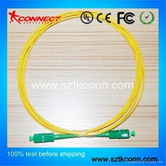 SC/APC Fiber Optic Patch Lead