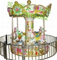 郑州游乐优玩具专业生产儿童转马