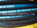high pressure steel wire braided