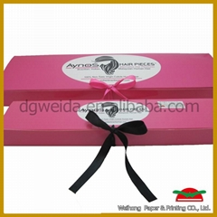 recycled paper box for hair extension