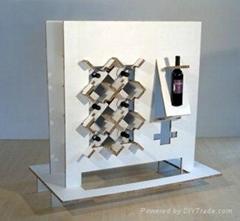 Wine Cardboard Display Stand