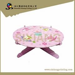 Cardboard Cupcake Display