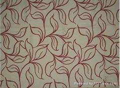 Flocking super soft polyester sofa fabrics of velvet