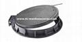 EN124 D400 SMC Composite Manhole Cover C/O Ø700mm