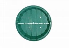 A15 Composite Lawn Shaft Cover C/O Ø660mm