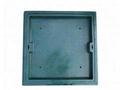 B125 Composite Bricks Manhole Cover C/O 740x740mm