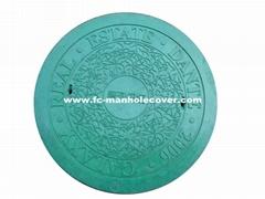 EN124 D400 Composite Manhole Cover C/O Ø650mm