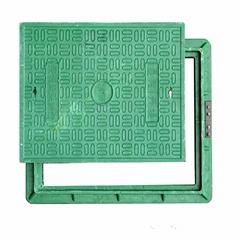 EN124 B125 Composite Manhole Cover C/O 750x550mm
