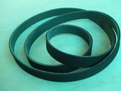 Multi wedge rubber belt