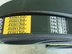 rubber belt poly V belt