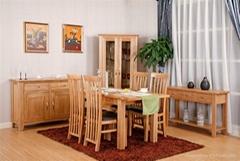 sinoah 301 range solid oak living room sets