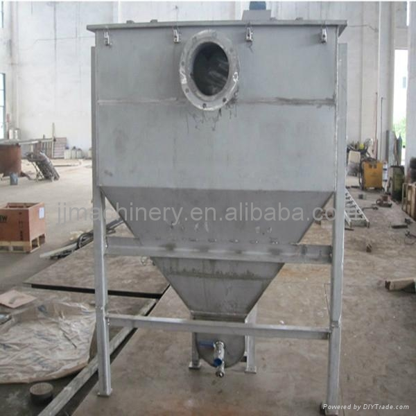 Sand And Slag Separator : Sa shaftless screw sand separator conveyor feida china
