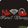 Luxury therapy foe woman rhinestone