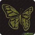 Butterfly hotfix rhinestone design
