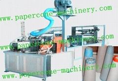 Textile yarn cone core making machine