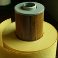 car air filter paper roll