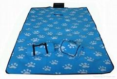 polar fleece picnic blanket